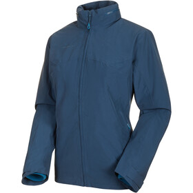 Mammut Trovat 3 in 1 HS Hooded Jacket Women wing teal-sapphire